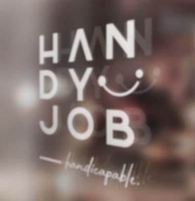Handyjob - Nouvelle identité visuelle, site internet
